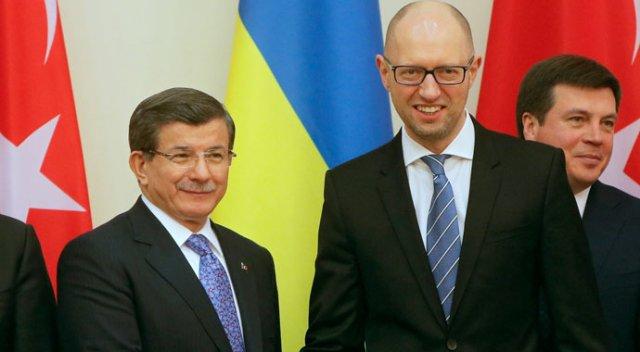 Davoutoglou et Yatseniouk
