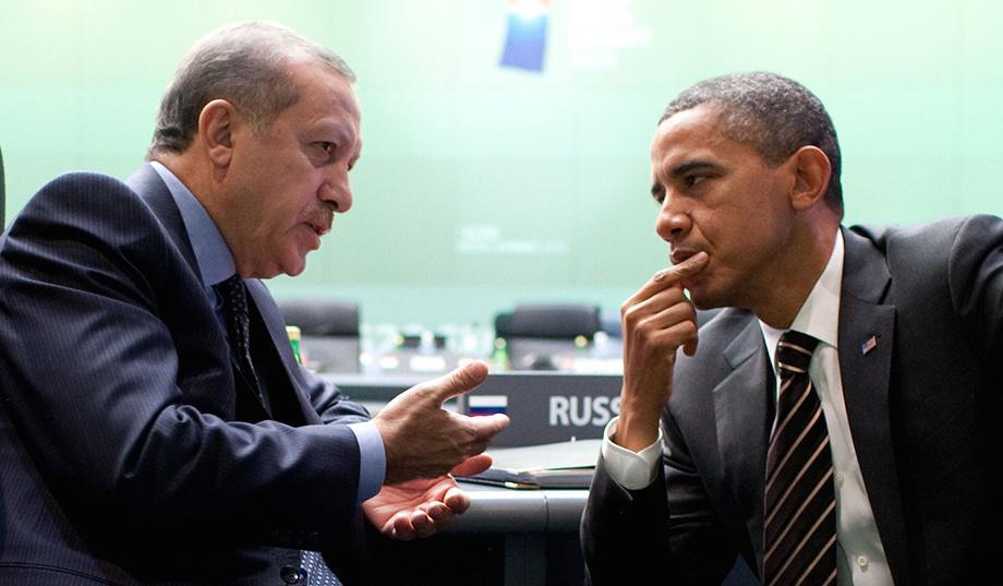 Erdogan et Obama