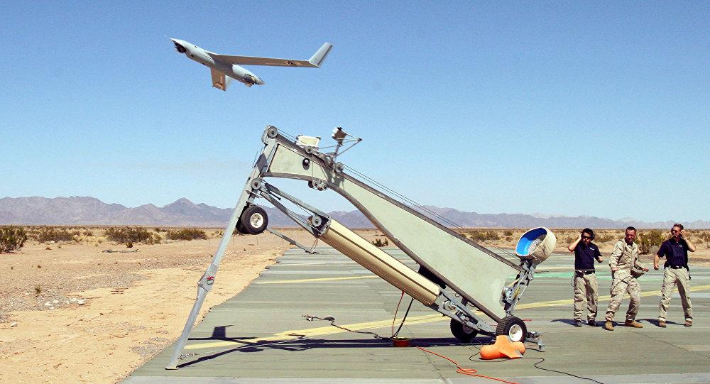drone léger en opération