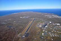 piste de l'aeroport de keflavik