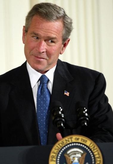 L'ancien Président US George W Bush Jr