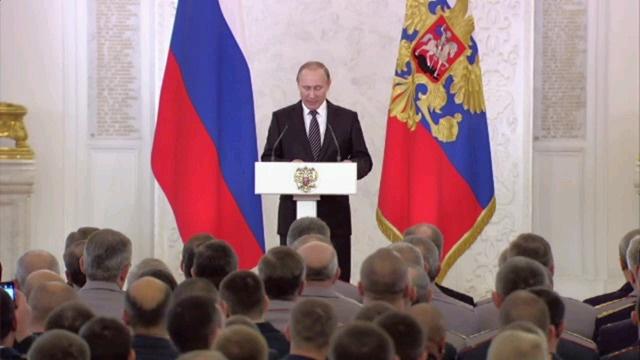 Vladimir Poutine - Kremlin - 17 mars