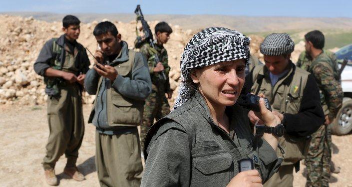 combattants du PKK en Turquie