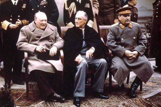 Sommet de Yalta en 1945