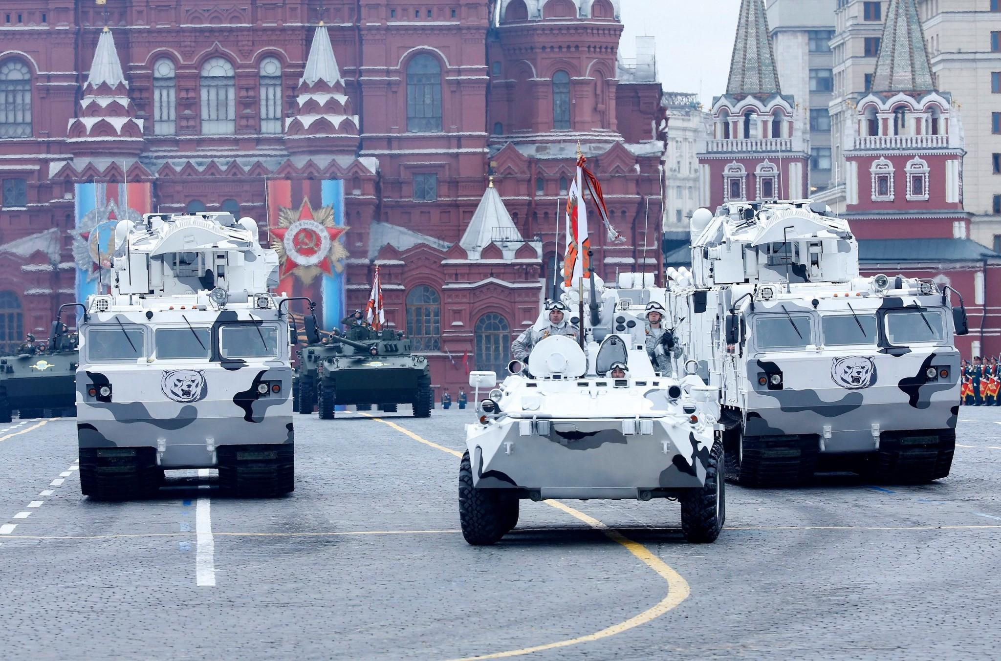 Les forces militaires russes en Arctique
