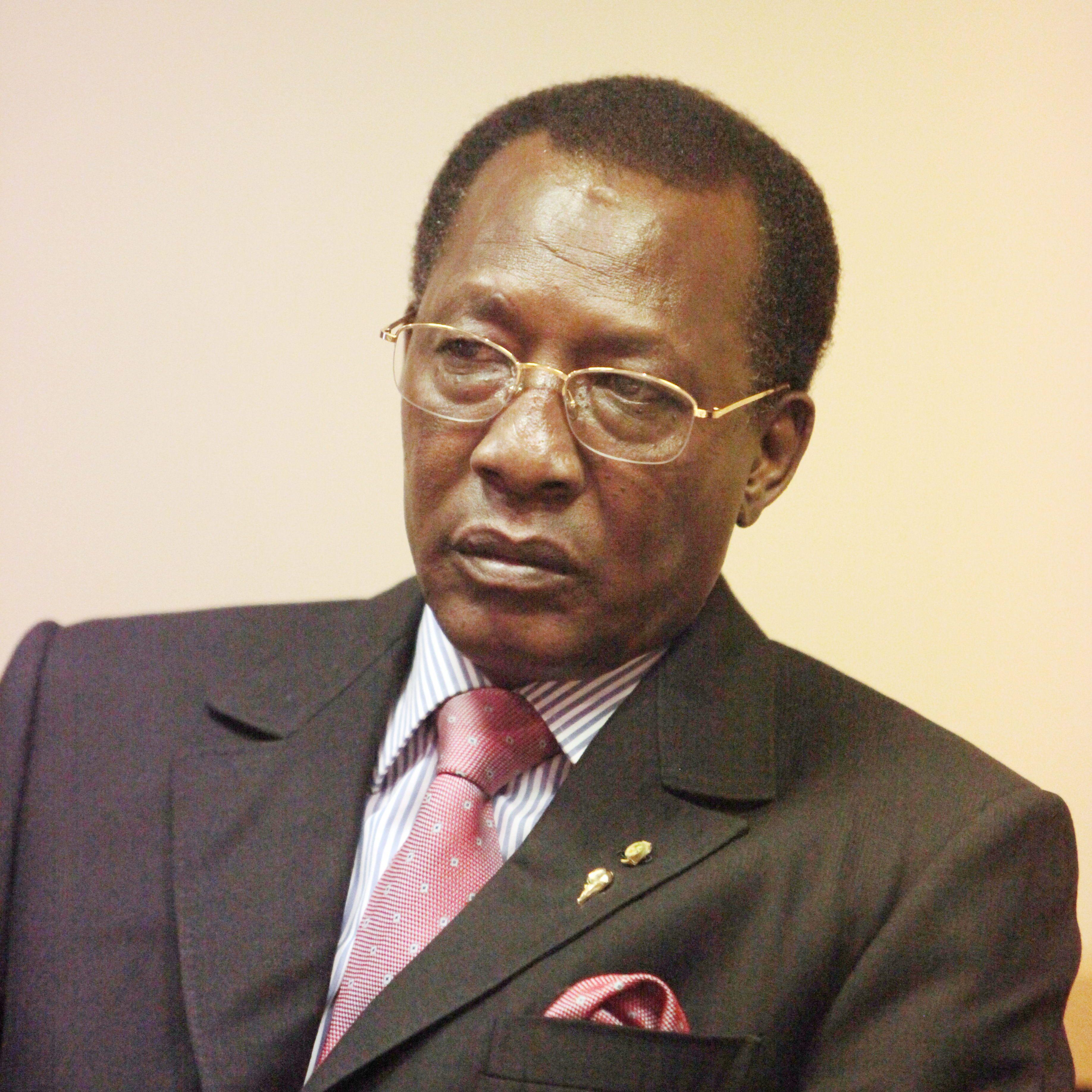 Idriss Déby, le président du Tchad