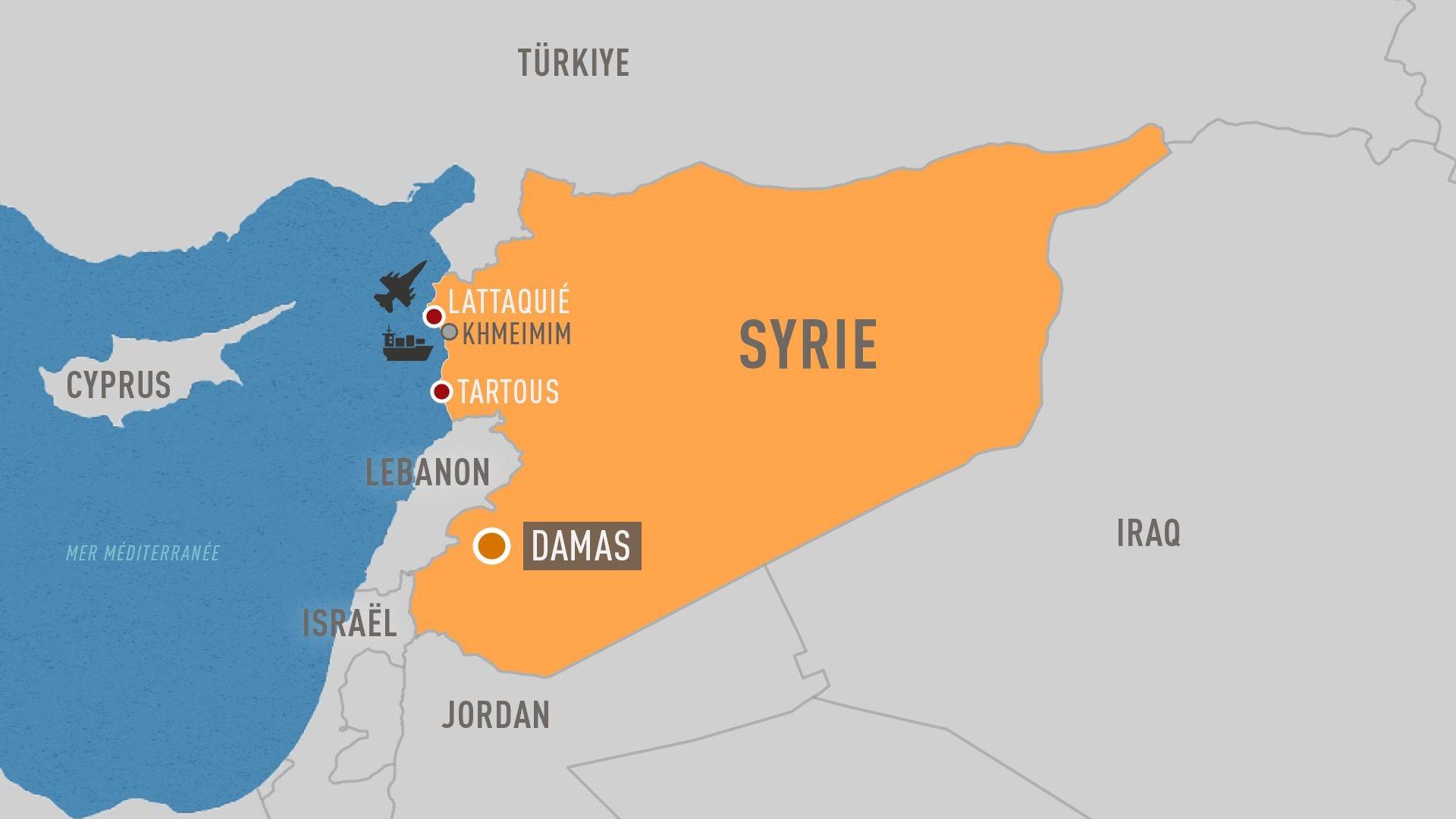 Syrie-Lattaquie-Tartous