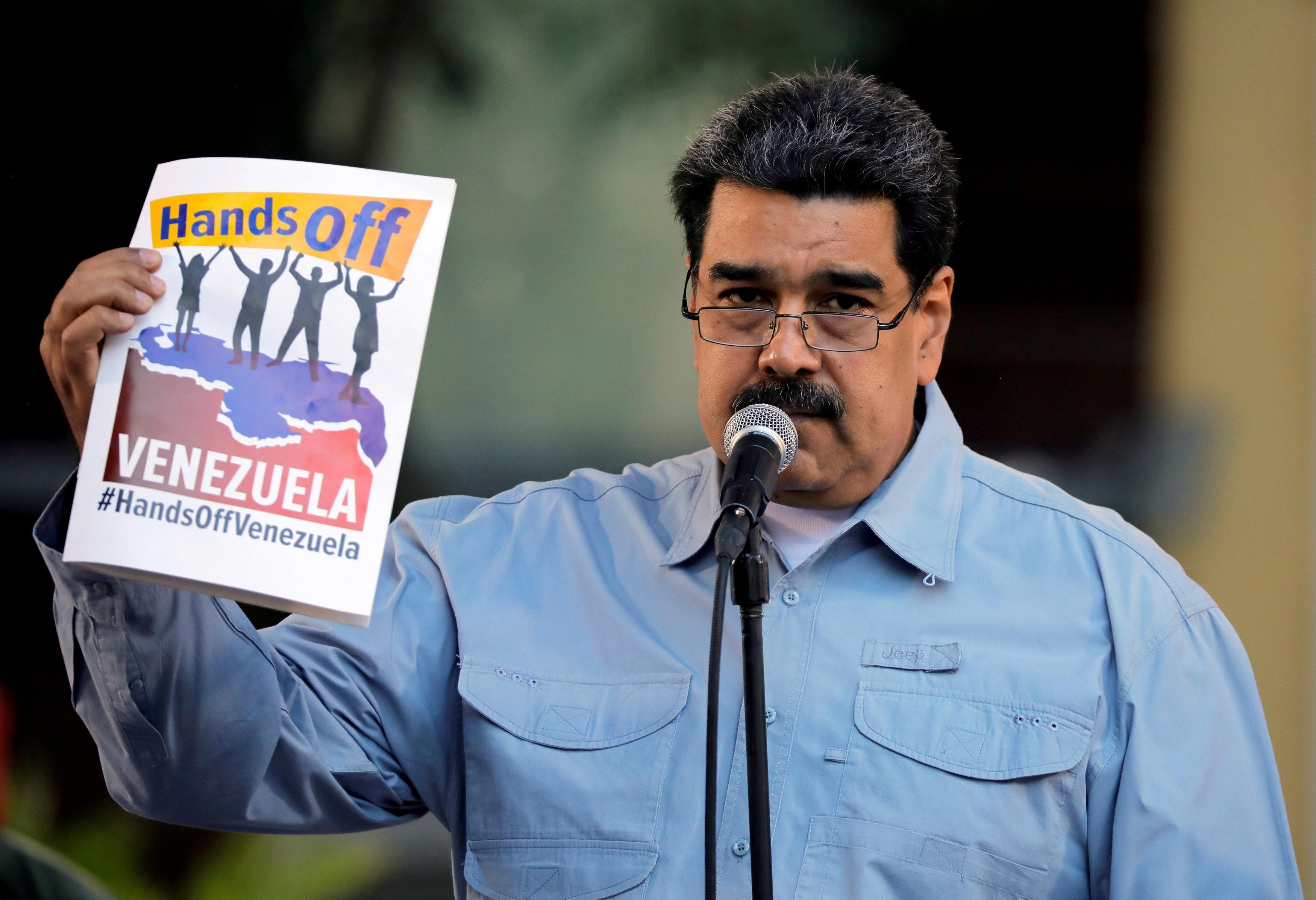 sanction venezuela